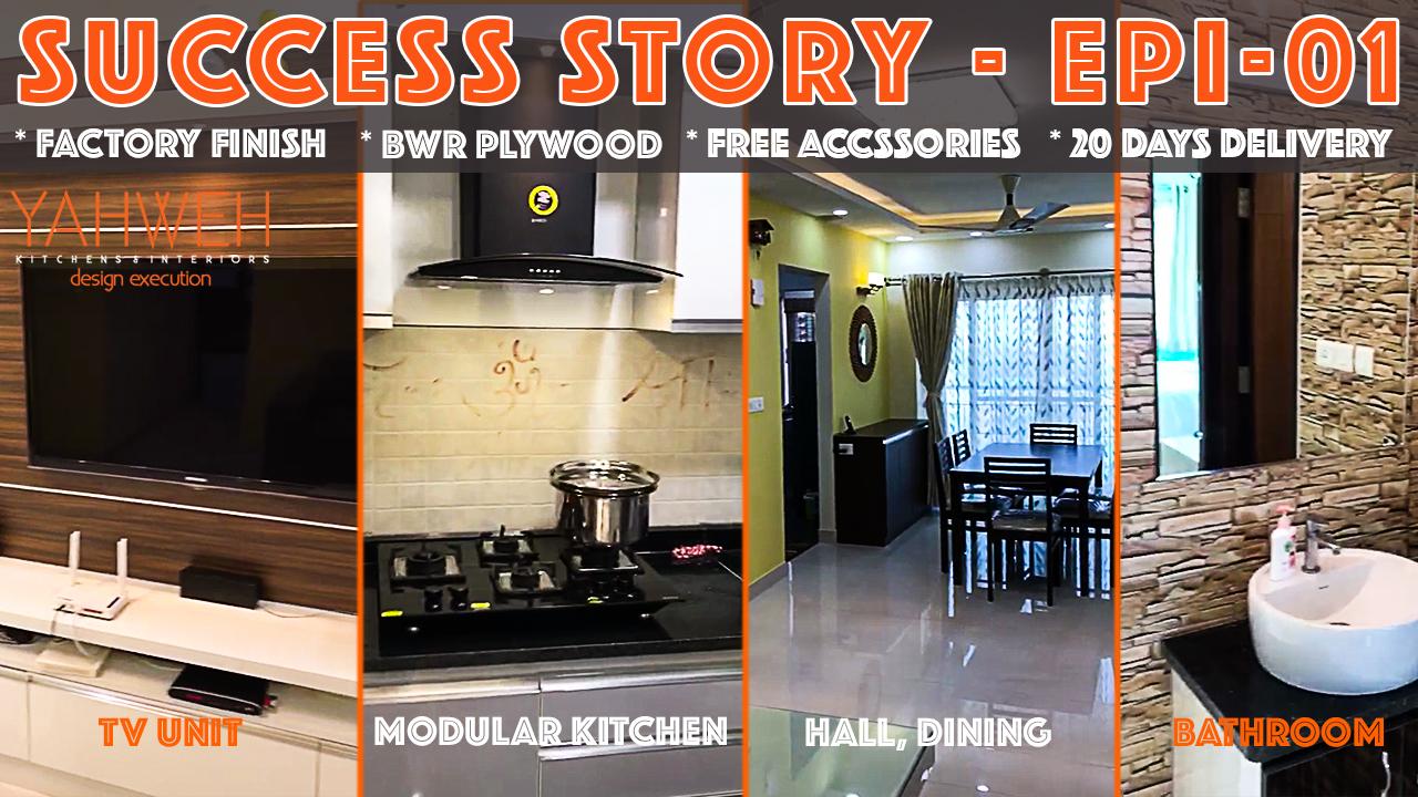 Success Story epi 01 | Yahweh Kitchens & Interiors